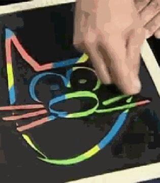 不会脏还自带跑马灯效果的宝宝画板:Etch A Sketch Freestyle