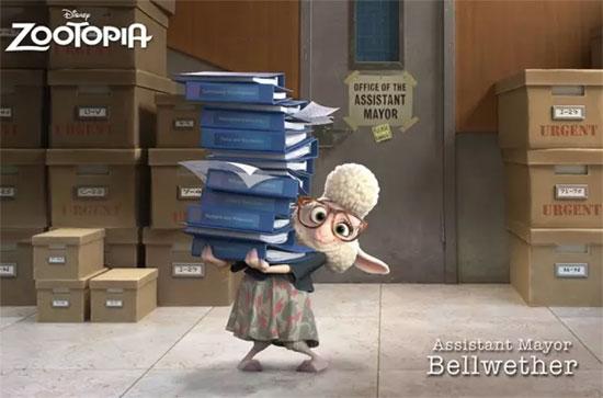迪士尼奥斯卡三喜临门 《疯狂动物城》勇夺最佳动画长