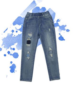 贝贝依依春季新品裤装  水彩画般的春天你要耍酷吗