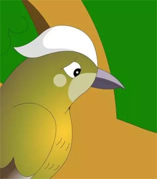 永高人讲故事  白头翁鸟为什么白了头