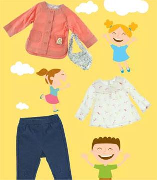 最美好的春光  巴拉巴拉童装带给宝贝纯真笑颜
