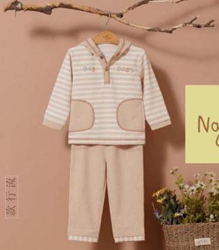 展现永不过时的条纹元素 尽在本色棉婴幼儿童装