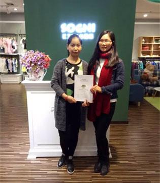 三月喜讯来  卓维乐童装品牌正式签约两位加盟商