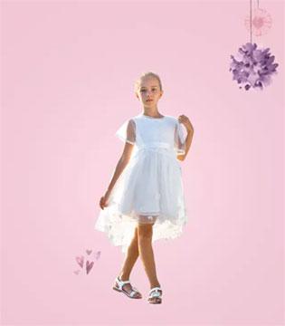巴拉巴拉Spring春装上新  让可爱萌宝变身小公主