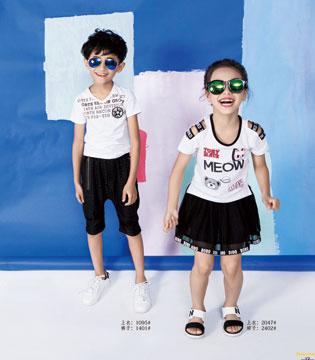 不需要做虚假宣传 只用实力圈粉的巴欧巴欧时尚童装