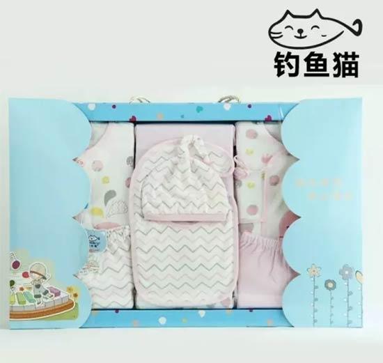 这一季印花棉宝宝装  从钓鱼猫赋予彩色开始