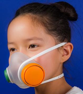 """抵挡雾霾同时也很好玩的儿童口罩""""Woobi Play"""""""