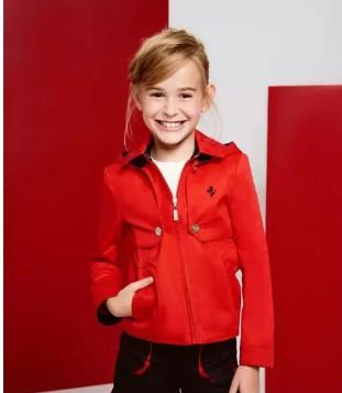 Ferrari Junior Collection童装新品 色彩缤纷的春夏时尚