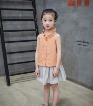 诺麦然童装2017夏季新品来袭 四海八荒的小帝姬开始上位了