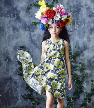 做时尚潮童引领者就用小资范童装2017春夏新品