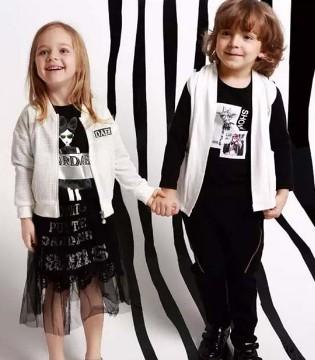 塔哒儿童装不走寻常路  用黑白点缀绚烂的春天