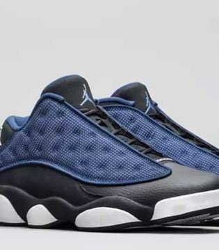 "相约海军蓝Air Jordan 13 Low""Navy"