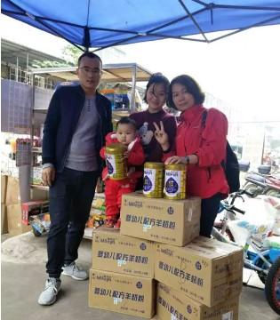 湛江市场活动  美力源羊奶粉畅销湖光小天才母婴店