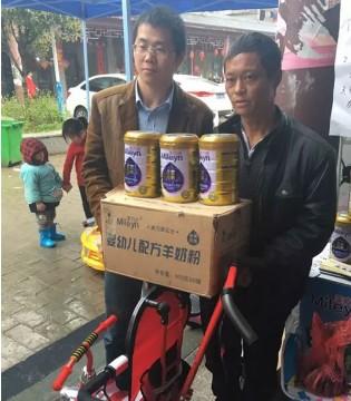 三月江西市场热  美力源羊奶粉市场活动场场爆满