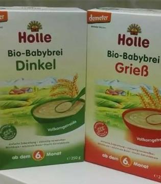 Holle新品上市  Holle欧洲原装进口婴幼儿有机谷物粉