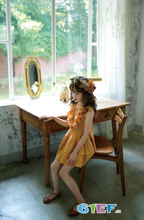 安娜&爱登童装用心打造唯美公主 为孩子营造精彩的童年