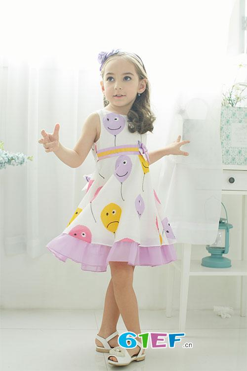 韩维妮童装淋漓尽致的演绎出孩子们不一样的美丽夏天