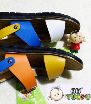 图图夏季新款男童凉鞋 给孩子的脚丫透透气