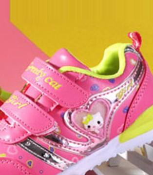 贪婪猫童鞋 穿着更舒适与孩子一起快乐成长