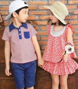 童年时光 带上小朋友与其墨儿童装新品共赴一场美丽之约