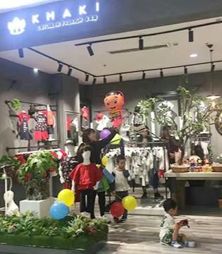 KHAKI卡琪屋童装湖北恩施锦联华店开业当天销售突破2万