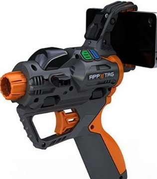 追忆儿时玩具枪  摩艾客AR枪让整个世界成为你的战场