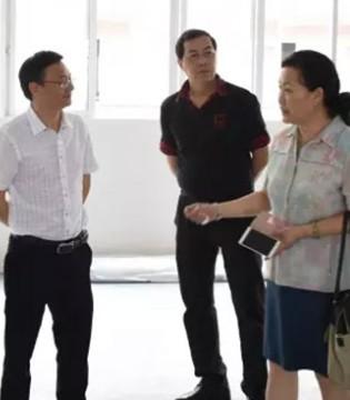 广东省婴童协会陈会长一行莅临卓儿新工业园参观