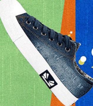 七波辉潮范系列百搭布鞋  大热牛仔元素潮流回归