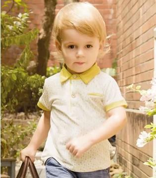 LABI BABY拉比帅气绅士系列  小男孩的夏日搭配手册