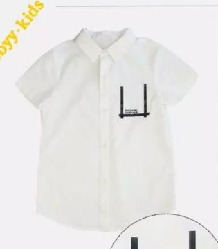 丰富多彩的夏天  贝贝依依的衬衫成了宝贝衣橱的宠儿