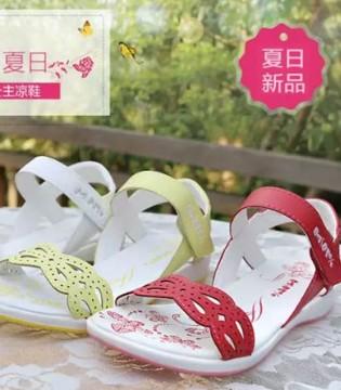 请吃下这枚安利  巴巴童鞋男女童凉鞋夏季新款清凉来袭