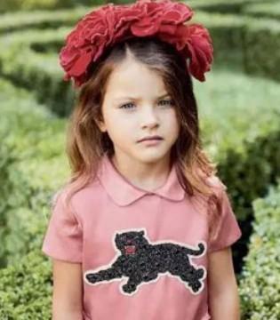 花园蜜语 意大利奢侈品牌GUCCI 春夏童装系列画册