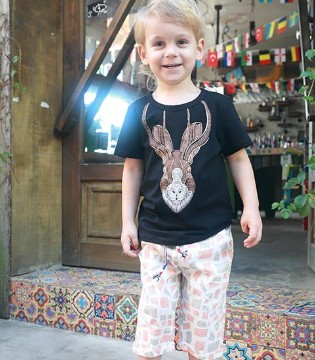 欣赏一下芭乐兔童装2017夏季新品 提前享受夏日的清爽