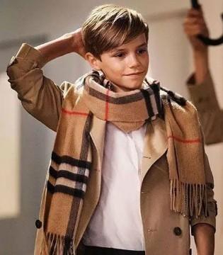 英国奢侈品牌Burberry童装 星二代们独宠单品