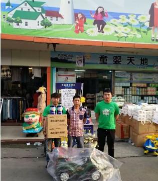 广州喜迎市场活动  美力源羊奶粉畅销婴童天地母婴店