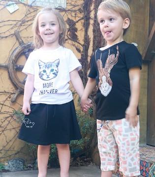荧屏cp不仅仅是鹿晗和迪丽热巴 还有爱穿芭乐兔童装的萌娃