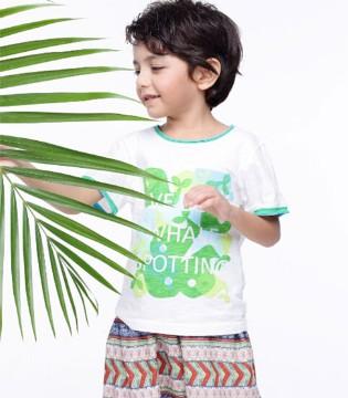 木有拥有KICCOLY童装印花休闲裤的你可能过了一个假夏天