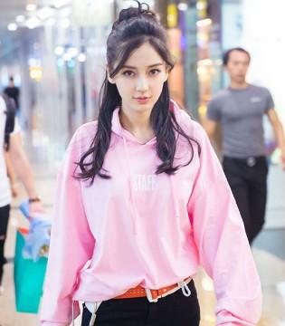 辣妈angelababy杨颖赶赴厦门参加活动 时尚穿搭备受争议