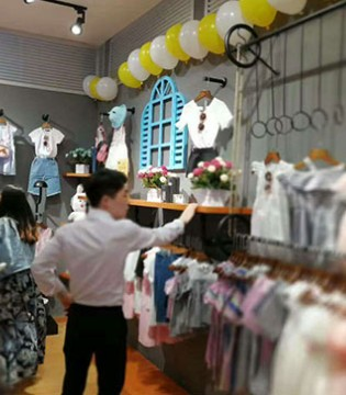 今天试营业的007童品童装南宁青秀新店是提前准备好母亲节