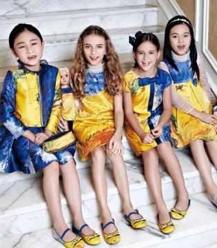 粒子粒姿梵高系列:黄+蓝 做这个夏日最出彩的宝宝