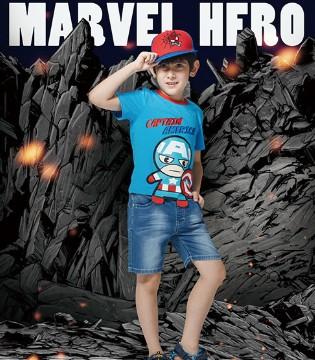 有梦总是好的 孩子的英雄梦在CAMKIDS垦牧童装可以实现