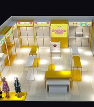 加菲猫童装新店将会在六一前相继开业 总有一家就在你身边