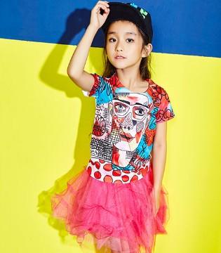 多姿的生活不能缺少的就是多彩的小资范时尚童装哦