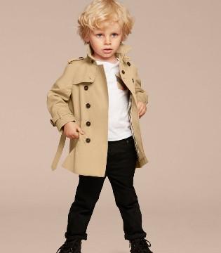 英国Burberry童装的经典风衣大集合 论英国小绅士如何养成