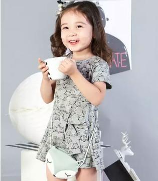 夏日童装新品上线 尽在樱桃巧克力童装
