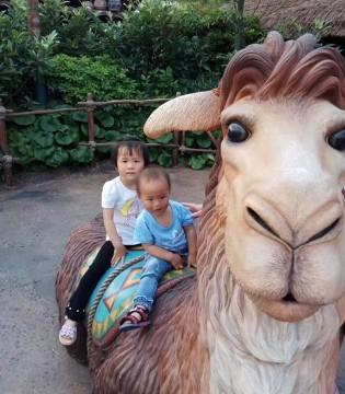 这个六一 贝智康的萌宝们在迪斯尼遇到了一些神奇的事情
