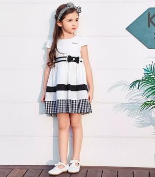 夏日来袭 想要清爽到底就穿上卡莎梦露童装吧