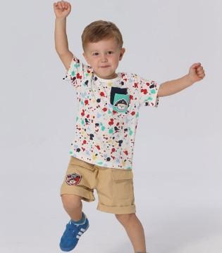 男童的夏季穿衣搭配 不清楚的妈妈们来看看吧