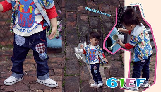 618 送上穿着祺村普C.H.CHAMP品牌童装的自己当礼物