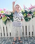种草芭乐兔品牌童装2017夏季新品 度过开心的618就靠它